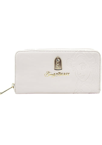 Loungefly X Disney Beauty and the Beast Belle Zip Wallet