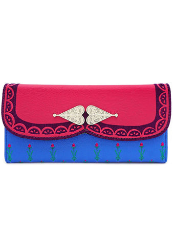 X Disney Frozen Anna Cosplay Wallet