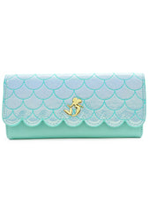 X Disney Little Mermaid Ariel Saffiano Wallet