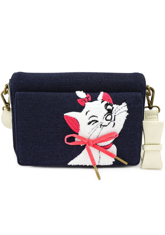 X Disney Marie Denim Crossbody Bag