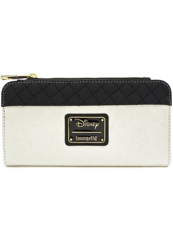 X Disney Mickey and Minnie Debossed Wallet