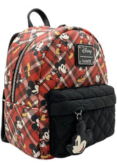 X Disney Mickey Plaid Mini Backpack