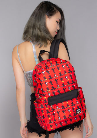 X Disney Mickey Parts AOP Nylon Backpack