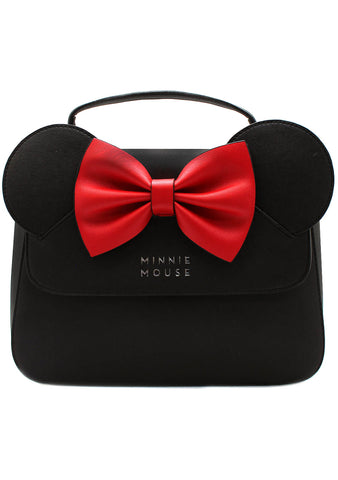 X Disney Minnie Saffiano Bow Crossbody Bag