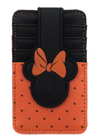 X Disney Minnie Mouse Card Holder Wallet