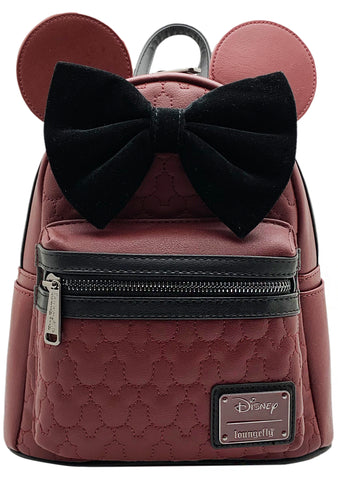 X Disney Minnie Mouse Quilted Mini Backpack
