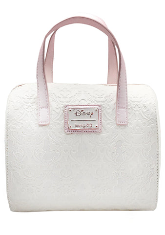X Disney Princess Damask Debossed Duffle Bag