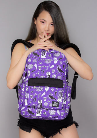 X Disney Villain Icons AOP Nylon Backpack