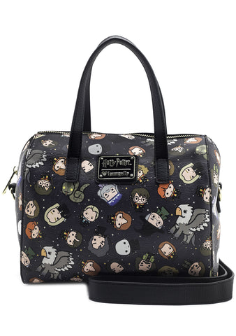 X Harry Potter Chibi Character AOP Duffle Bag