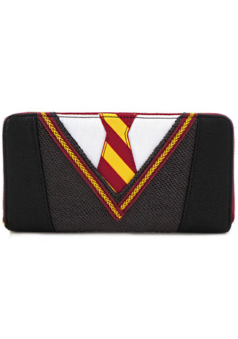 X Harry Potter Uniform Cosplay Zip Wallet