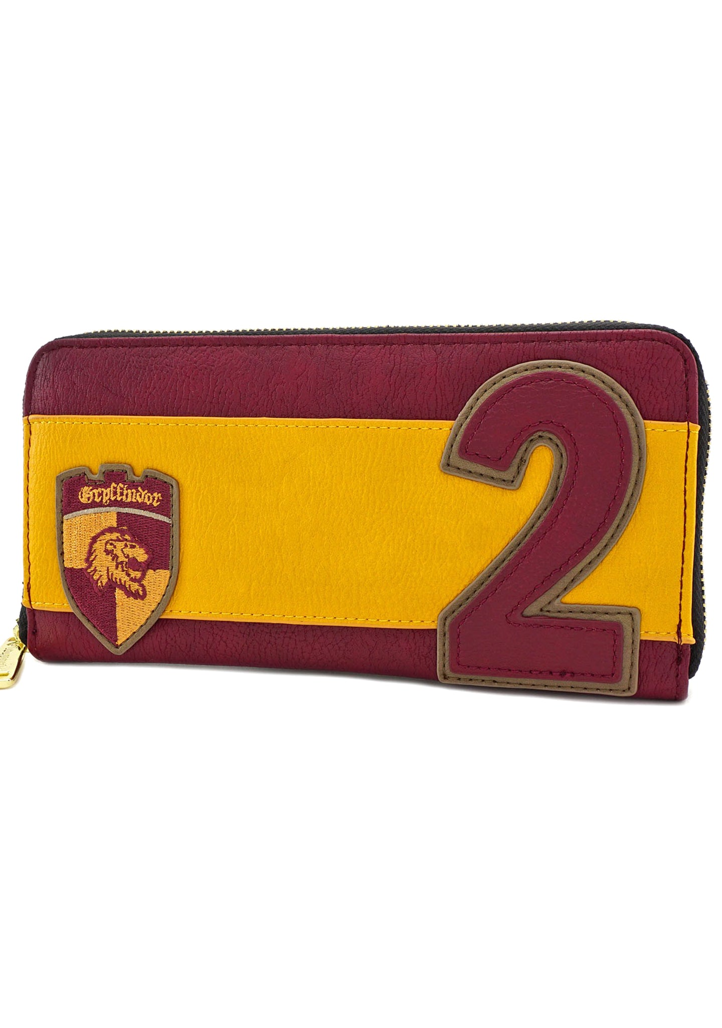 Loungefly X Harry Potter R. Weasley Gryffindor Zip Around Wallet