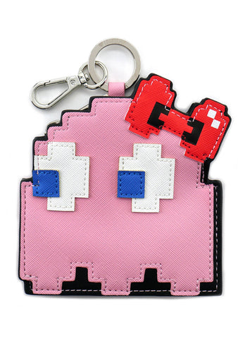 x Hello Kitty X Pac Man Pinky Bow Coin Bag