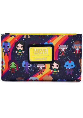 X Marvel Guardians Of The Galaxy Chibi AOP Wallet