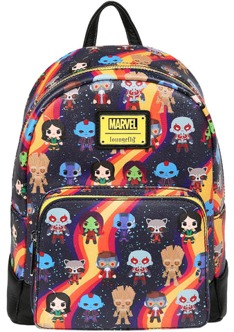 X Marvel Guardians Of The Galaxy Chibi AOP Mini Backpack