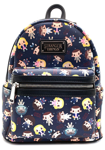 Loungefly X Stranger Things Eleven AOP Mini Backpack