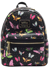 Loungefly X Pokemon Butterfly AOP Mini Backpack