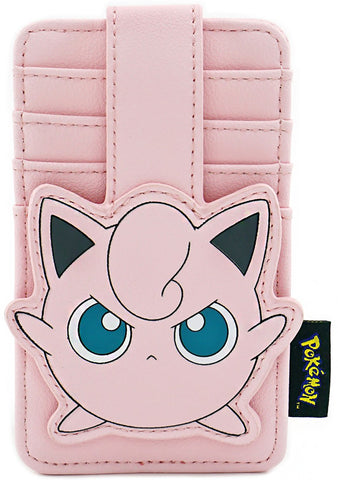 X Pokemon Jigglypuff Card Holder