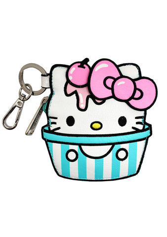 X Sanrio Hello Kitty Ice Cream Coin Bag