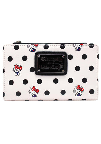 X Sanrio Hello Kitty Polka Dots Bi-Fold Wallet
