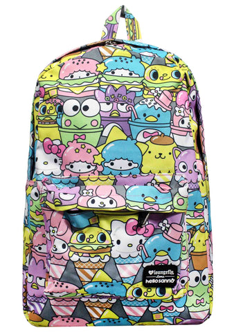 X Hello Sanrio Food AOP Backpack