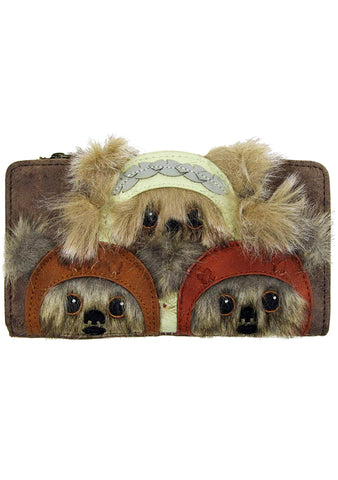 X Star Wars Ewok Trio Wallet