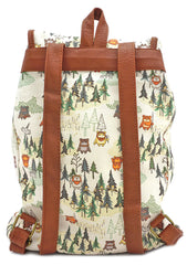 X Star Wars Ewok Forest AOP Drawstring Backpack