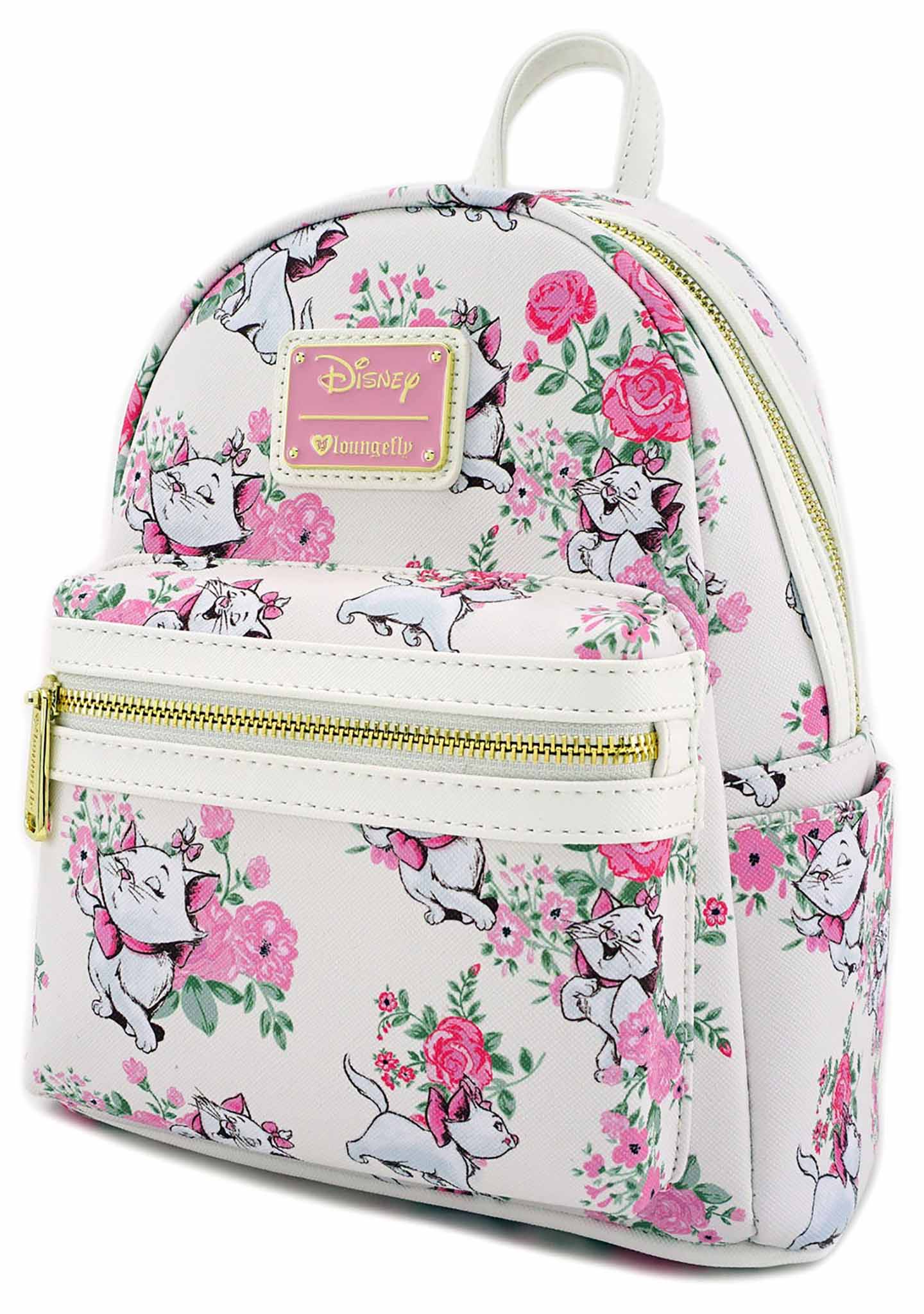 063a8e84b59 X Disney The Aristocats Marie Floral Mini Backpack