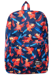 Loungefly X Disney Aladdin Iago AOP Nylon Backpack