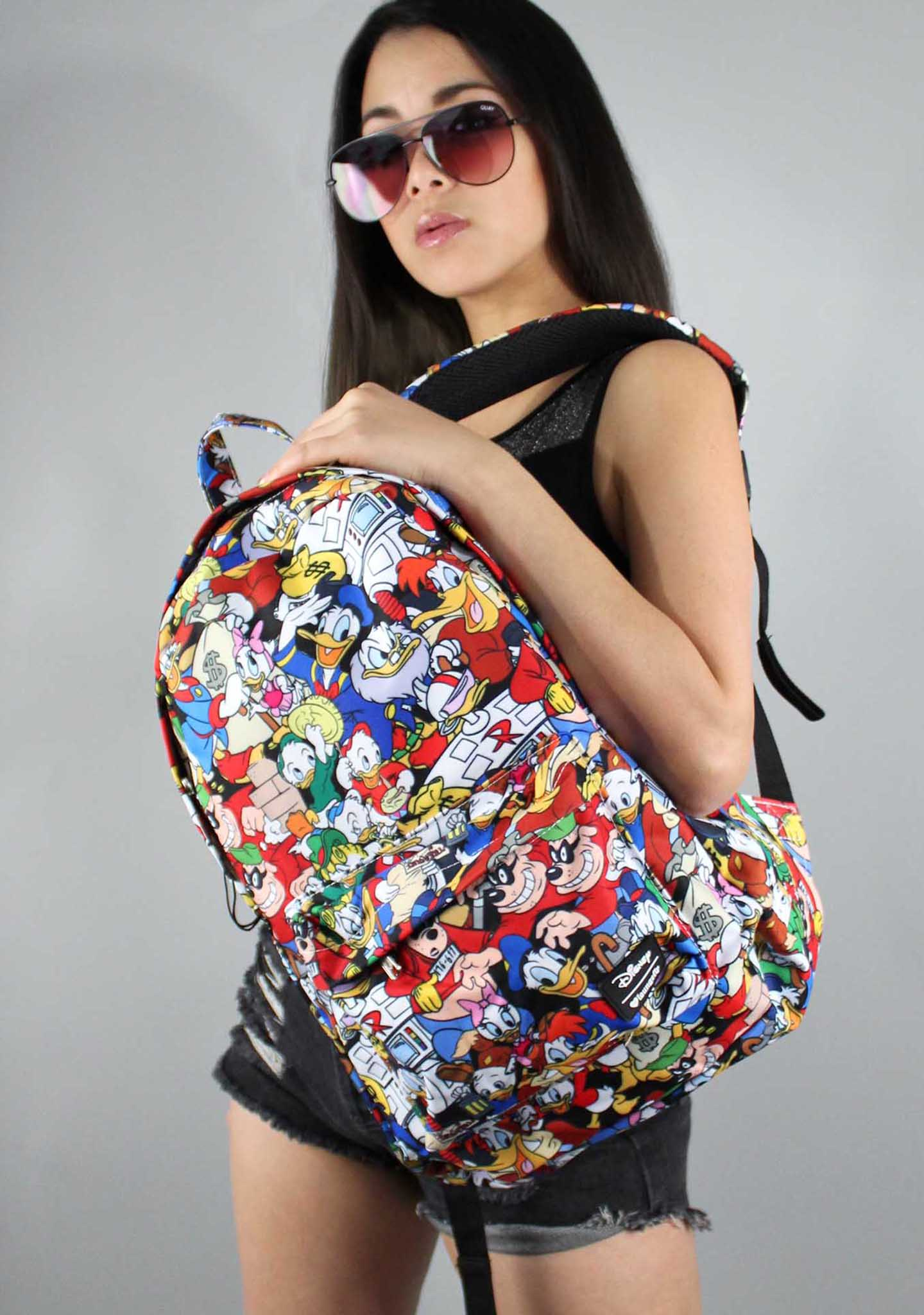 X Disney Duck Tales Character Backpack
