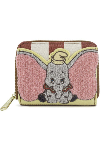 X Disney Dumbo Stripes Zip Wallet