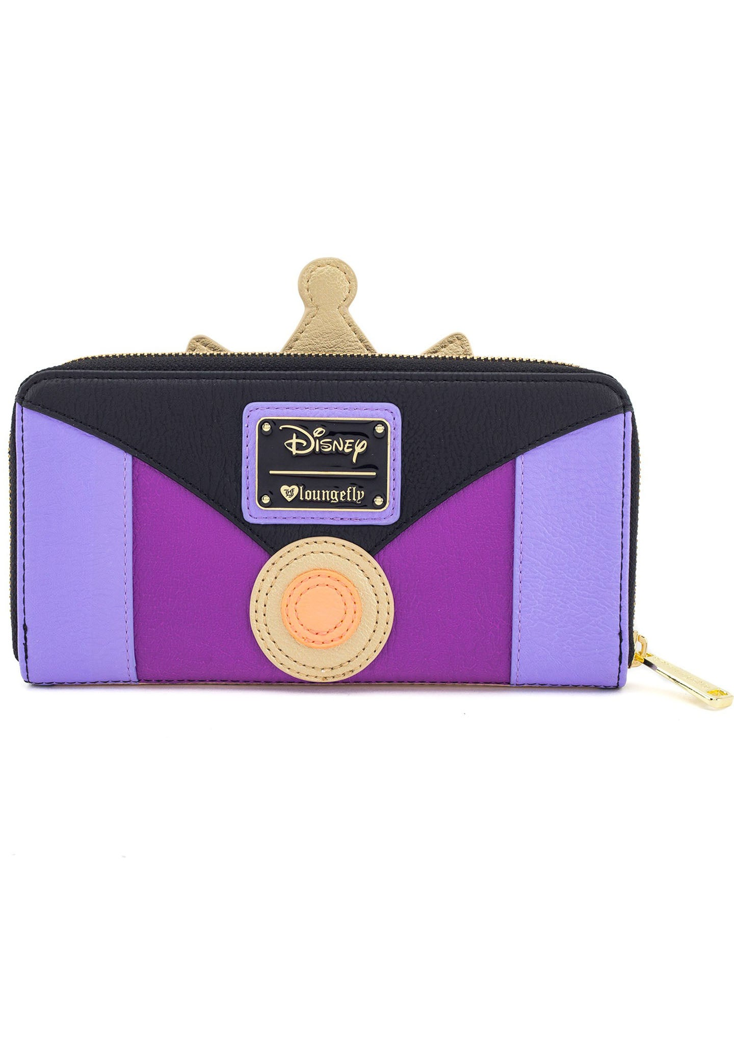 X Disney Evil Queen Zip Wallet