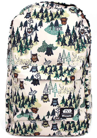 Loungefly X Disney Ewok Forest Backpack