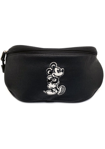 X Disney Mens Mickey Mouse Taupe Fanny Pack