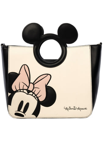 Loungefly X Disney Minnie Die Cut Crossbody Bag