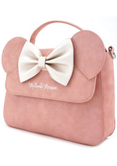 X Disney Minnie Bow Crossbody Bag in Pink