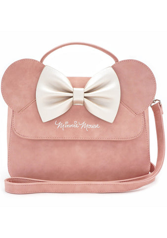 Loungefly X Disney Minnie Bow Crossbody Bag