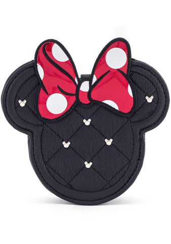 X Disney Minnie Mouse Quilted Coin Bag
