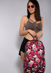 X Disney Mulan Floral Fan Backpack