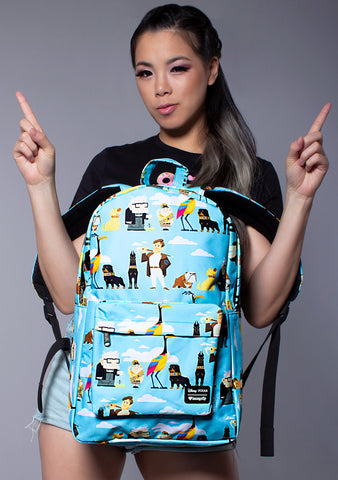 X Pixar Up Character AOP Backpack