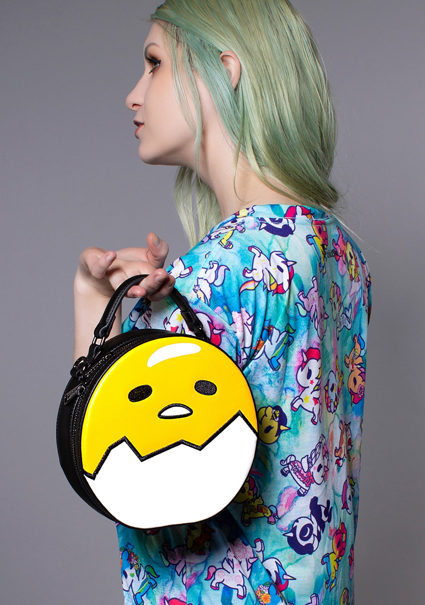 fbec69657b57 X Gudetama Cracked Egg Crossbody