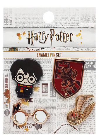 X Harry Potter 4PC Pin Set