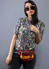 Loungefly X Harry Potter Gryffindor Crest Fanny Pack