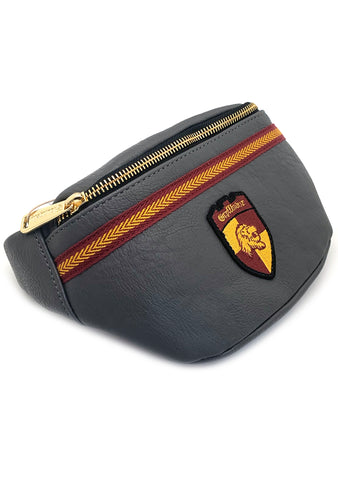 Harry Potter Gryffindor House Crest Waist Garter Fanny Pack in Grey