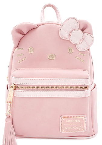 Loungefly X Hello Kitty Metallic Mini Backpack