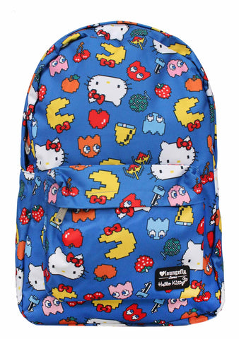 Loungefly X Hello Kitty X Pac Man Characters Backpack