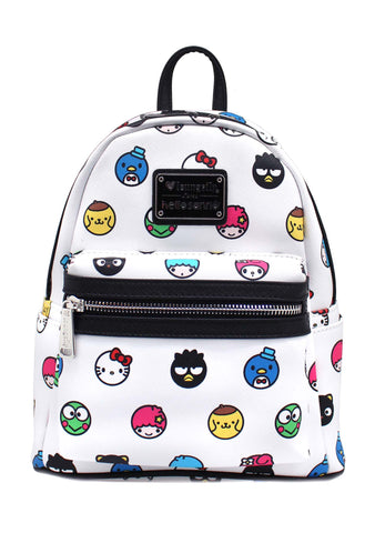 X Hello Sanrio Circle Mini Backpack