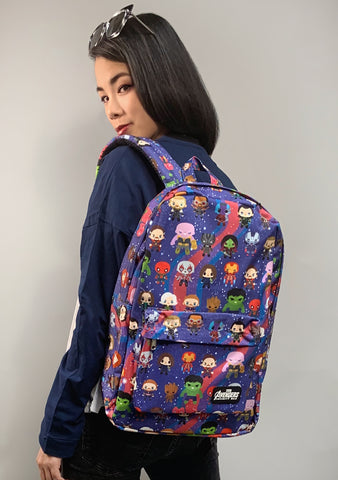 X Marvel Avengers Kawaii Backpack