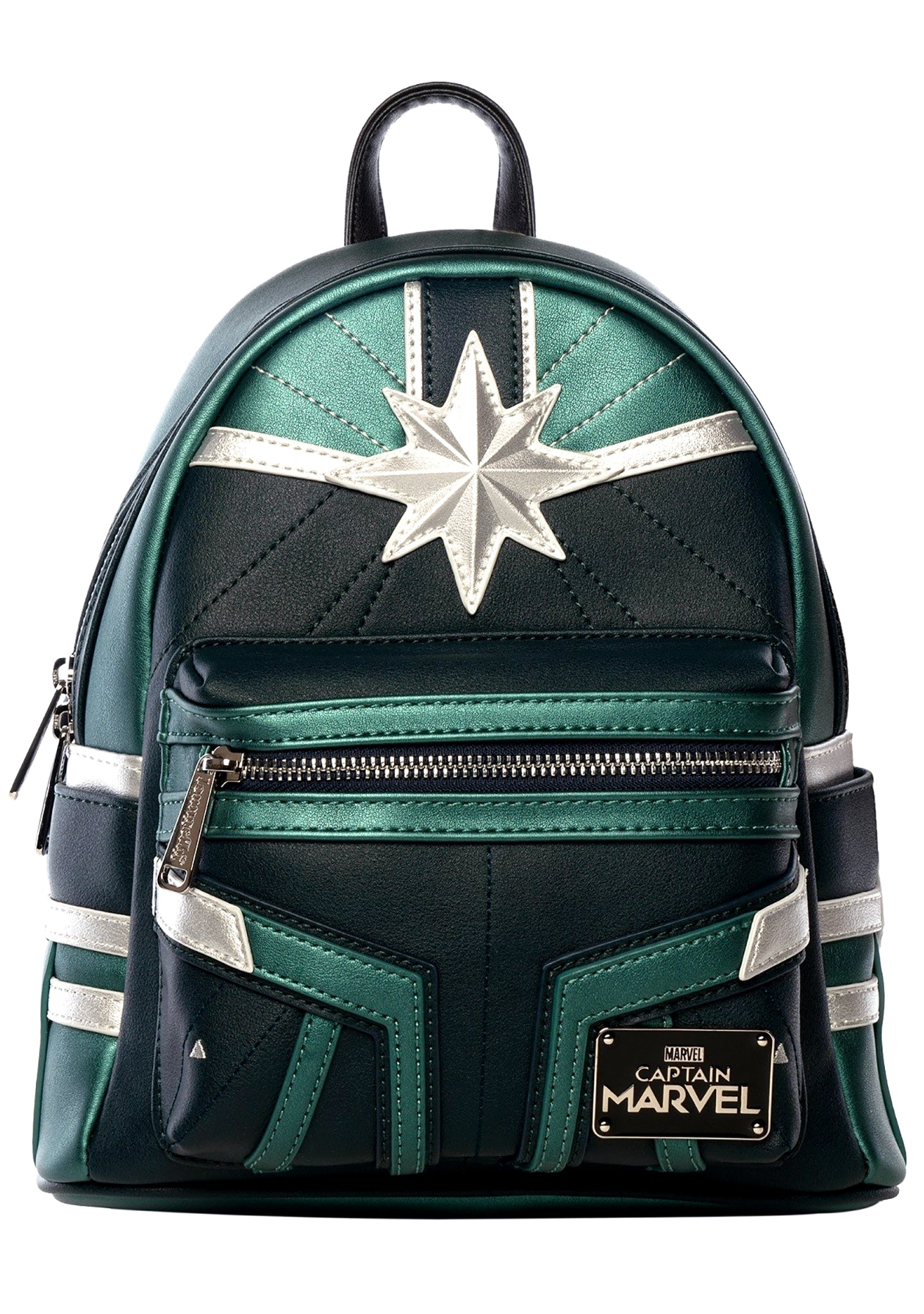 eedc06a6eb7b X Captain Marvel Green Suit Mini Backpack
