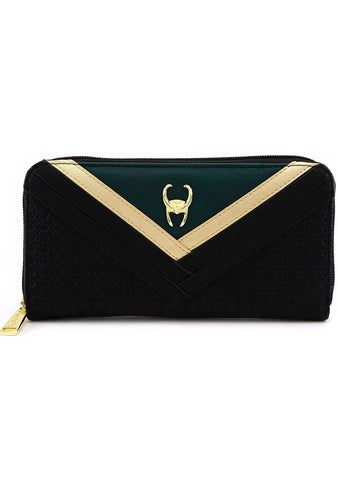 x Marvel Loki Zip Wallet