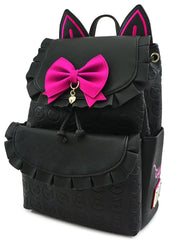 X Overwatch D. Va Black Cat Cosplay Mini Backpack